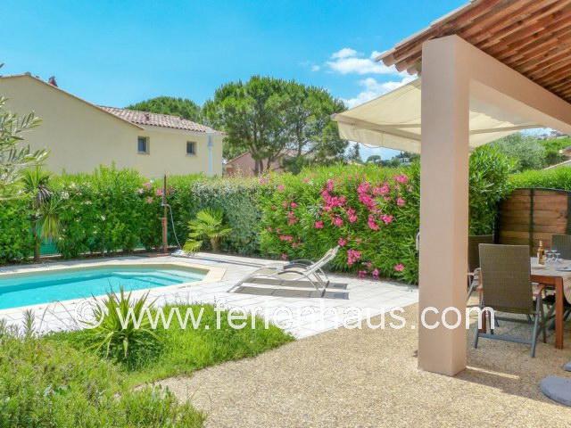 Ferienhaus mit Pool in Südfrankreich, Les Issambres, strandnah