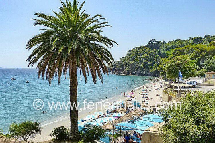 Strandbucht von Le Rayol Canadel, nahe des Ferienhauses