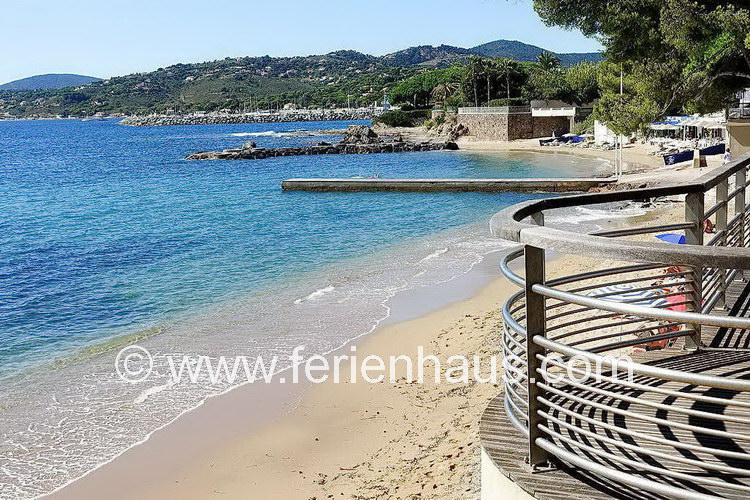 im Ortskern von Les Issambres am Golf von St. Tropez, Südfrankreich