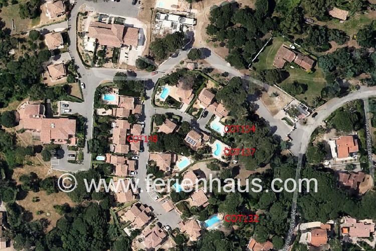 Ferienhaus Provence, die Domaine, Les Issambres