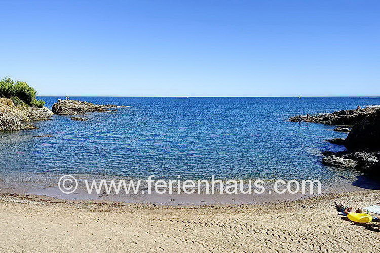 Strand in Les Issambres - COT163 Ferienwohnung mit Pool in Les Issambres