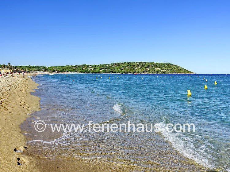 am Strand von Pamplonne, Halbinsel von St. Tropez, Südfrankreich