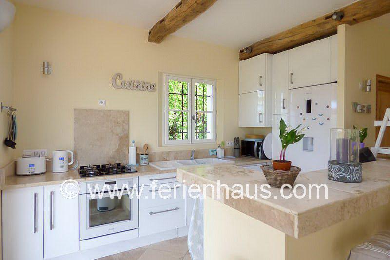 Offene Küche - Ferienhaus PRV113 Lorgues
