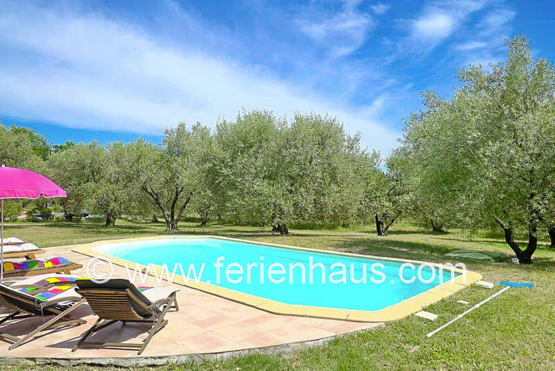 Ferienhaus COT145 mit Pool in Seillans in der Provence