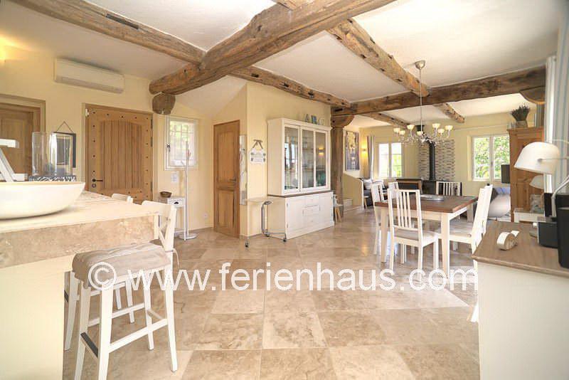 Offener Wohn-Essraum - Ferienhaus PRV113 in Lorgues