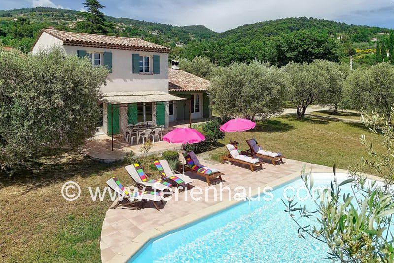 Ferienhaus Provence, Pool, Hund, 6 Personen
