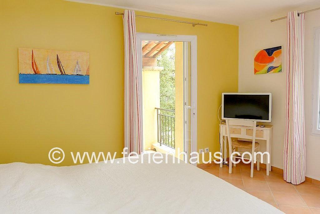 Ferienhaus Südfrankreich, moderne Schlafzimmer