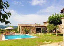 Ferienhaus Provence mit Pool bei Roussillon, Hund auf Anfrage