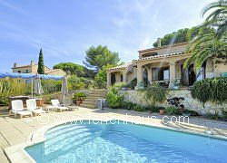 Ferienhaus Provence, Pool, Meerblick, auf Giens