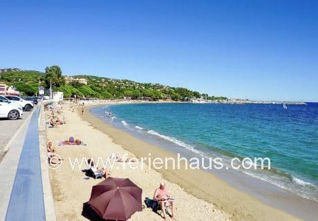 Les Issambres an der Côte d'Azur, Südfrankreich