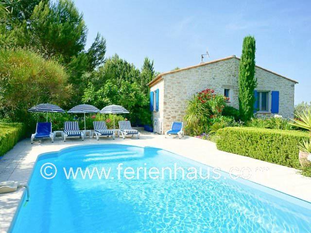 Ferienhaus mit privatem Pool bei Le Beausset in der Provence