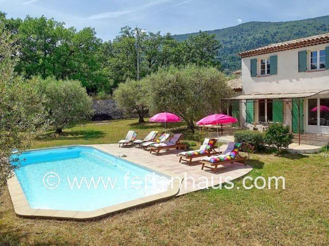Ferienhaus Provence mit Pool, Hund, 6 Personen