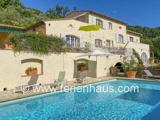 Villa für 6 Personen mit privatem Swimmingpool bei Cabris, Grasse, nahe Cannes